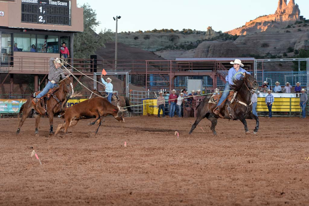 Team Roping Action (Header)
